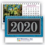 Custom Deluxe Marble Desk Calendar