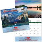 Custom American Splendor Stitched Wall Calendar