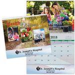 Custom Health & Wellness Spiral Wall Calendar