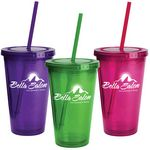 Custom 16 Oz. Oli Double-Wall Tumbler
