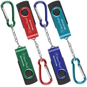 USB Swivel Keychain - 8 GB