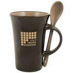 Custom Latte Spoon 12 Oz. Mugs