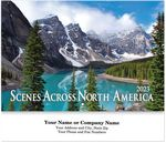 Custom Scenes Across North America Stitched Wall Calendar