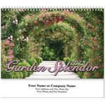 Custom Garden Splendor Spiral Wall Calendar