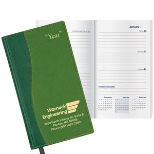 Duo Surge Work Weekly Pocket Planner w/4 Color Map