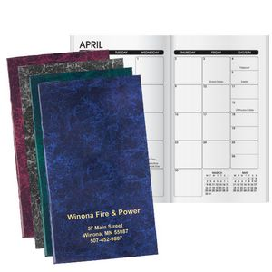 Seam Marble Monthly Planner