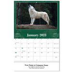 Custom North American Wildlife Stitched Wall Calendar