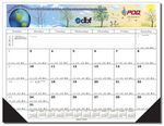 Custom Full Color / Full Size Desk Pad Calendar