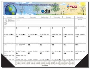 Full Color / Full Size Desk Pad Calendar