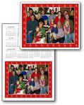 Custom Calendar Christmas Card w/ Envelope