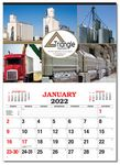 Custom Custom Color Apron Diary Wall Calendar (17