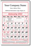 Custom Almanac Calendar (Full Size / Six Sheet) - Industries Best Price