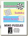 Custom Saddle Stitch Combo Puzzle Book w/ 3 Puzzle Styles
