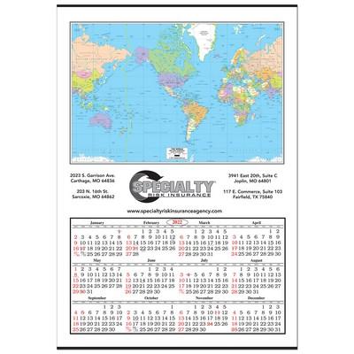 Lunar branding stellar custom merchandise jumbo world map wall calendar gumiabroncs Images