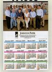 Custom Custom Color Year-at-a-Glance Wall Calendar (11