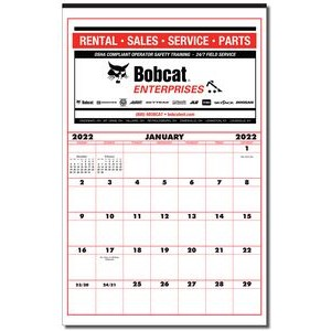 Super Size Contractor's Commercial Wall Calendar