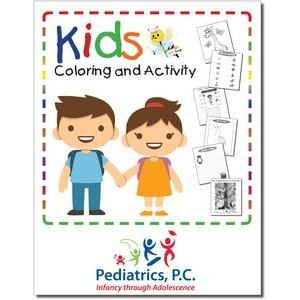 Kids Coloring and Activity Workbook