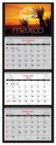 Four Panel Custom Wall Calendar