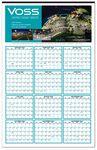 Custom Custom Color Year-at-a-Glance Wall Calendar (22