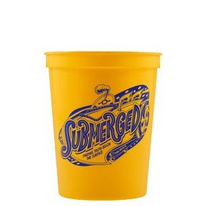 16 oz Stadium Cup - Yellow