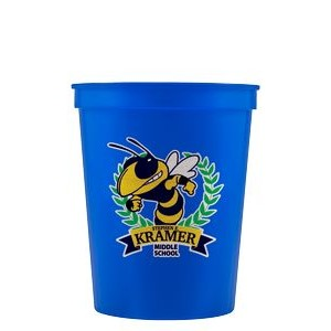 16 oz Stadium Cup - Blue