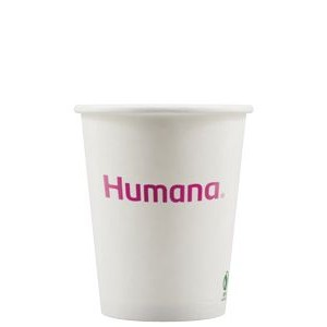 8 oz Eco-Friendly Paper Cup - White