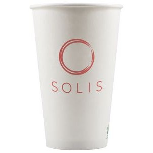 16 oz Eco-Friendly Paper Cup - White