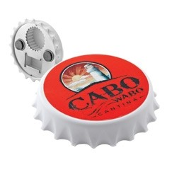 "Bottle Cap Opener Magnet (3-1/8"" Diameter)"