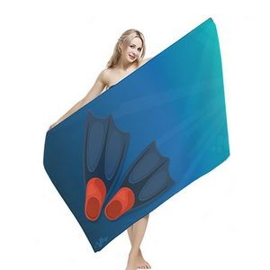 Full Color Microfiber Beach Towel