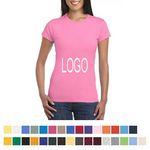 Custom Women's 100 percent Premium Cotton T-shirts