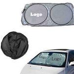 Custom Polyester Folding Auto Sunshade