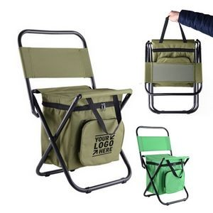 Cooler Chair with Back Rest