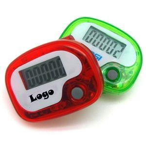 Portable Plastic Pedometer W/ Single Function