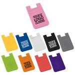 Custom Dual Pocket Slim Silicone Phone Wallet