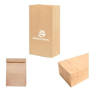 Grease proof Food Kraft Paper Sacks Lunch Bags