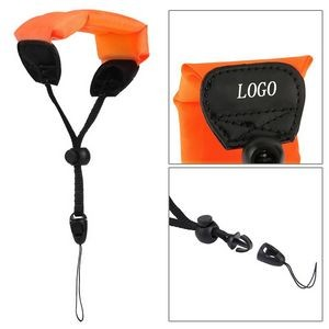 Waterproof Camera Float Hand Grip Lanyard