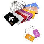 Custom Aluminum Airplane Pattern Travel Luggage Tag