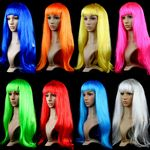 Custom Long Hair Party Wig