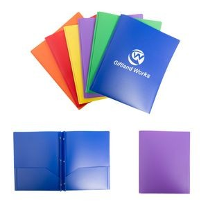 Plastic A4 Size File Document Pocket Folder