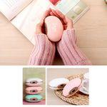 Custom Bean Shape Hand Warmer Massager Power Bank