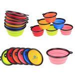 Custom Foldable Silicone Pet Bowl