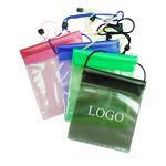 Custom Phone Waterproof Pouch W/ Cinch Strap