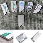 Custom Silver Bookmark or Money Clip