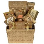 Custom Snack Temptation Gift Basket