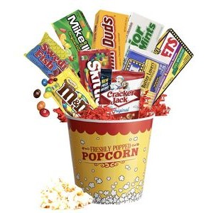 Movie Time Candy Gift Basket