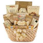 Custom Ultimate Basket of Golden Snacks