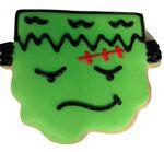 Custom Halloween Frankenstein Jumbo Cookie