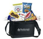 Custom Cooler of Snacks (Navy Blue)