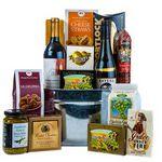 Custom Wine & Cheese Gift Basket