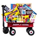 Custom Red Candy Wagon Gift